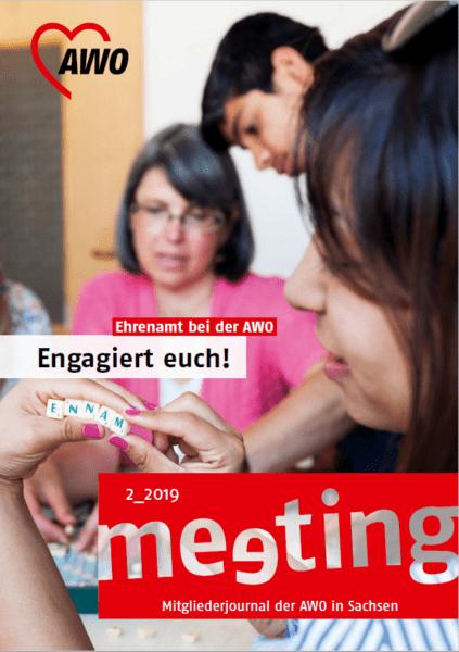 titelbild awo mitgliedermagazin meeting 02-2019