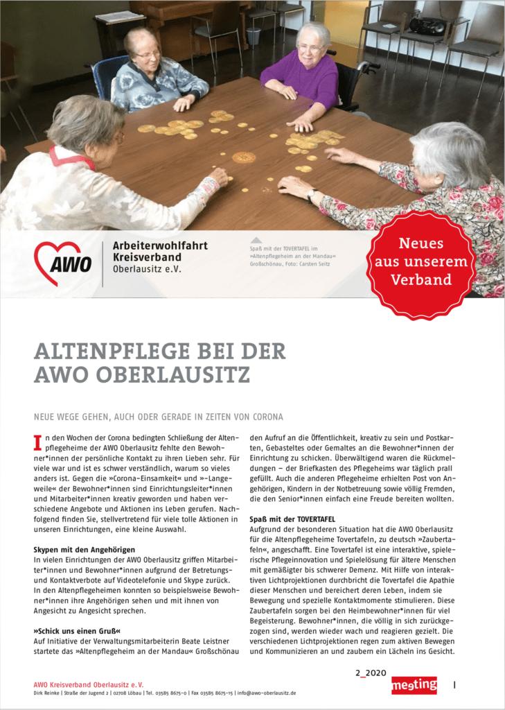 mitgliedermagazin meeting oberlausitz