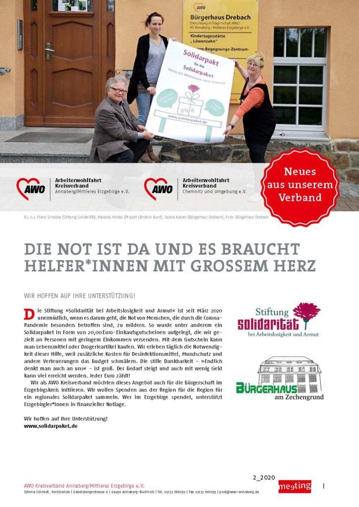 Titelblatt Regionalteil Annaberg und Chemnitz