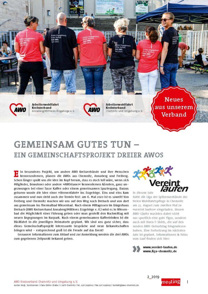 meeting 2-2019 Annaberg Chemnitz