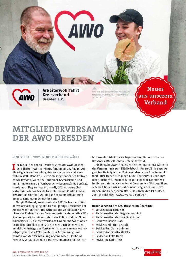 meeting 2-2019 Dresden
