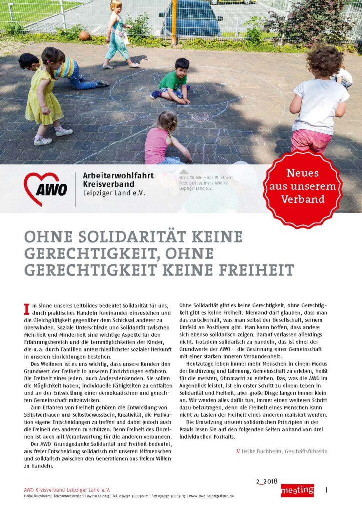 meeting 2-2018 Leipziger Land