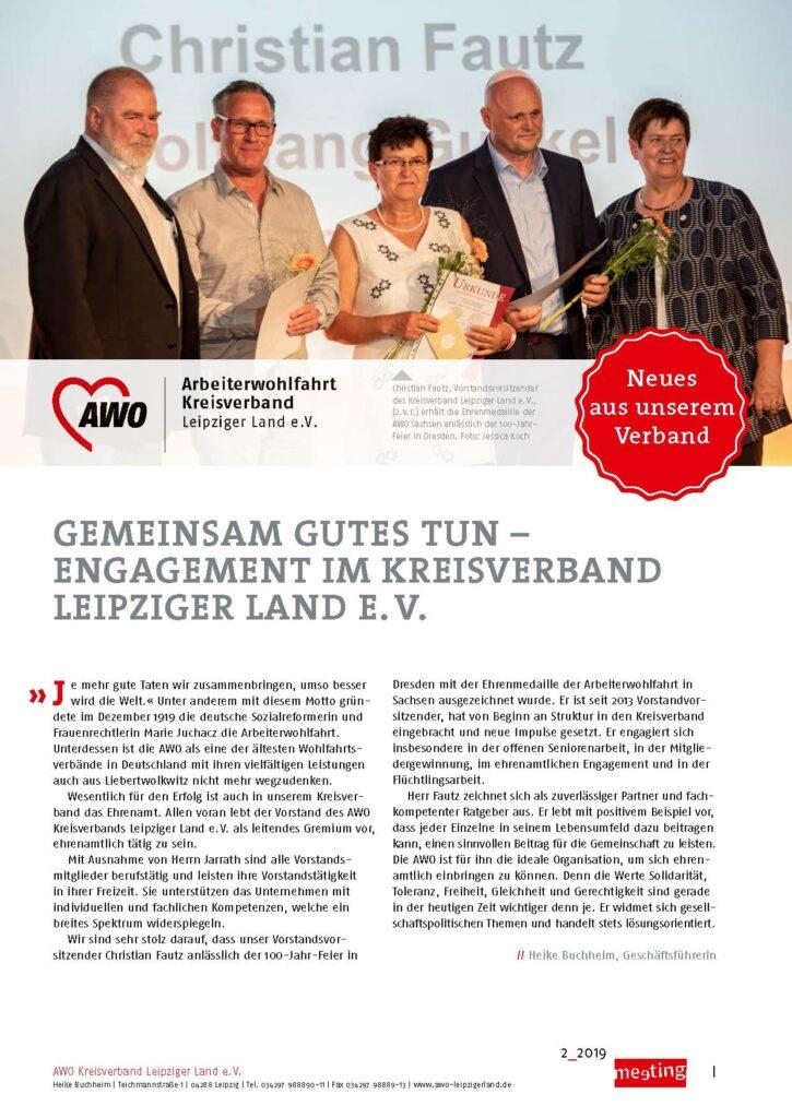 meeting -2019 Leipziger Land