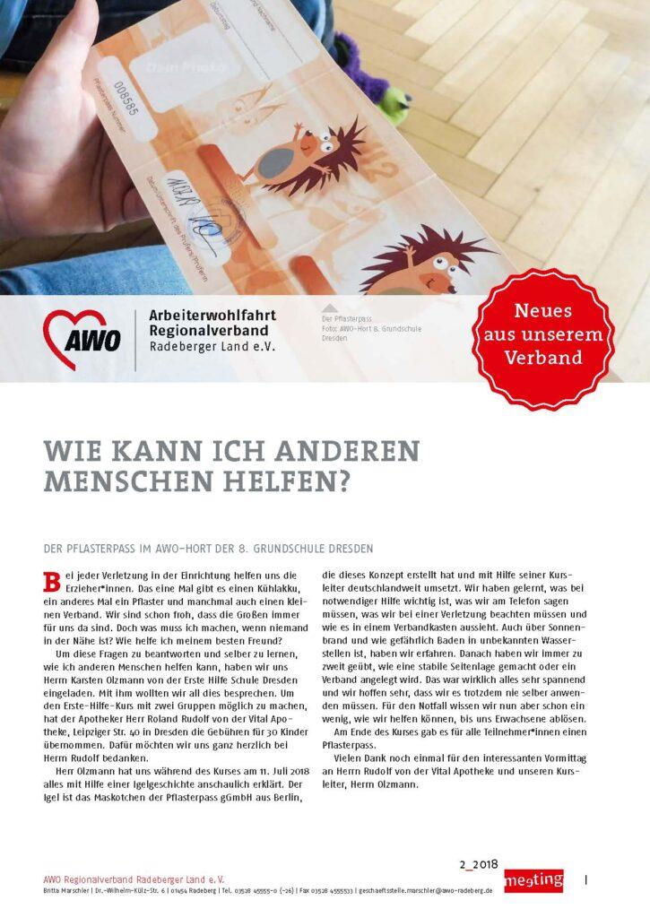meeting 2-2018 Radeberg