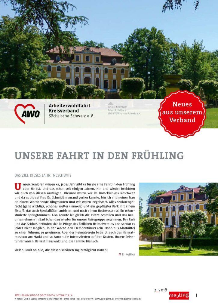 meeting 2-2018 Sächsische Schweiz