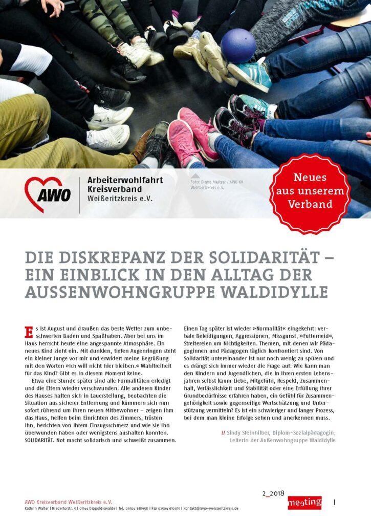meeting 2-2018 Weißeritz