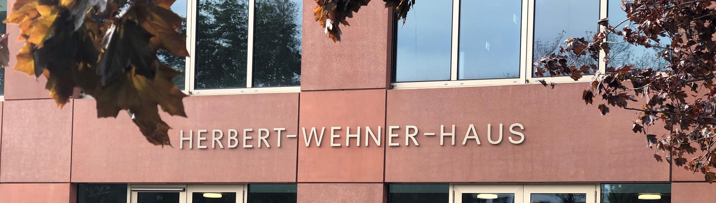Eingangsbereich Herbert Wehner Haus