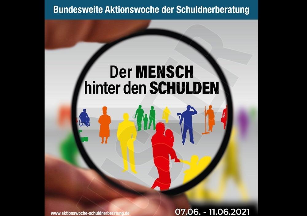 Das Kampagnenbild zur diesjährigen Aktionswoche Schuldnerberatung